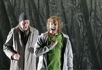 'SIEGFRIED' (Wagner - conductor: Paul Daniel   director: Phyllida Lloyd   designer: Richard Hudson),John Graham-Hall (Mime), Richard Berkeley-Steele (Siegfried),English National Opera / London Coliseu...