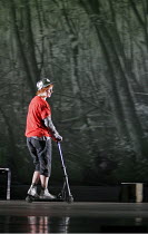 'SIEGFRIED' (Wagner - conductor: Paul Daniel   director: Phyllida Lloyd   designer: Richard Hudson),Sarah Tynan (Woodbird),English National Opera / London Coliseum  WC2         06/11/2004,
