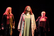 'THE VALKYRIE' (Wagner)~l-r: Leah-Marian Jones (Rossweisse), Orla Boylan (Sieglinde), Valerie Reid (Grimwerde)~English National Opera/London Coliseum                24/01/2002
