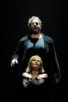 'THE VALKYRIE' (Wagner)~Kathleen Broderick (BrUnnhilde), Robert Hayward (Wotan)~English National Opera/London Coliseum                24/01/2002