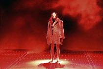 'THE VALKYRIE' (Wagner - conductor: Paul Daniel   director: Phyllida Lloyd   design: Richard Hudson)~final scene - BrUnnhilde alone on stage: Kathleen Broderick (BrUnnhilde)~English National Opera / L...