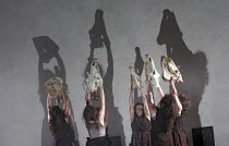 'DIE WALK�RE' (Wagner - conductor: Antonio Pappano   director: Keith Warner   ,set design: Stefanos Lazaridis   costume design: Marie-Jeanne Lecca   lighting: Wolfgang G�bbel),Act III: Valkyrie,The Ro...