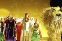 DIE ZAUBERFLOTE (THE MAGIC FLUTE) by Mozart - conductor: Vladimir Jurowski   director: Adrian Noble~final scene: Lisa Milne (Pamina), Pavol Breslik (Tamino)~Glyndebourne Festival Opera / East Sussex,...
