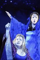 DIE ZAUBERFLOTE (THE MAGIC FLUTE) by Mozart - conductor: Vladimir Jurowski   director: Adrian Noble~l-r: Lisa Milne (Pamina), Cornelia Gotz (Queen of the Night)~Glyndebourne Festival Opera / East Suss...
