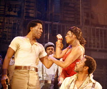 PORGY AND BESS   a new musical production by George Gershwin, Dubose & Dorothy Heyward and Ira Gershwin,adapted and directed by Trevor Nunn   ,set design: John Gunter   costume design: Sue Blanelighti...
