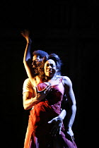 PORGY AND BESS   ,a new musical production by George Gershwin, Dubose & Dorothy Heyward and Ira Gershwin,adapted and directed by Trevor Nunn   set design: John Gunter   costume design: Sue Blane,light...