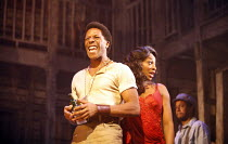 PORGY AND BESS   a new musical production by George Gershwin, Dubose & Dorothy Heyward and Ira Gershwin,adapted and directed by Trevor Nunn   set design: John Gunter   costume design: Sue Blanelightin...