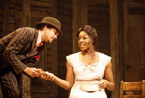 PORGY AND BESS   a new musical production by George Gershwin, Dubose & Dorothy Heyward and Ira Gershwin,adapted and directed by Trevor Nunn   ,set design: John Gunter   costume design: Sue Blane   lig...