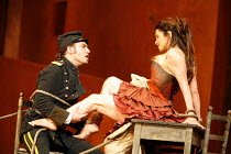 CARMEN  by Bizet  conductor: Antonio Pappano  director: Francesca Zambello ~Jonas Kaufmann (Don Jose), Anna Caterina Antonacci (Carmen) ~The Royal Opera, Covent Garden, London WC2  08/12/2006 ~(c) Don...