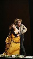 CARMEN  by Bizet  conductor: Antonio Pappano  director: Francesca Zambello ~Don Jose kills Carmen: Anna Caterina Antonacci (Carmen), Jonas Kaufmann (Don Jose)~The Royal Opera, Covent Garden, London WC...