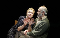 THE CHAIRS   by Eugene Ionesco   translated by Martin Crimp   director: Thea Sharrock,Susan Brown (Old Woman), Nicholas Woodeson (Old Man),Gate Theatre, London W11           23/11/2006 ,~(c) Donald Co...