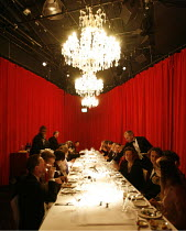 THE CLASS CLUB,Upper Class dining area,Duckie / BITE:06 / The Pit, Barbican Centre, London EC2        18/12/2006,
