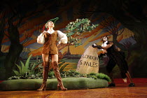 DICK WHITTINGTON AND HIS CAT   written by Mark Ravenhill   director: Edward Hall~Summer Strallen (Dick Whittington), Derek Elroy (Tommy the Cat)~BITE:06 / Barbican Theatre, London EC2...