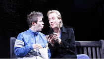 DON JUAN IN SOHO   by Patrick Marber   after Moli�re   director: Michael Grandage,l-r: Stephen Wight (Stan), Rhys Ifans (Don Juan),Donmar Warehouse / London WC2                   06/12/2006,