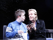 DON JUAN IN SOHO   by Patrick Marber   after Moliere   director: Michael Grandage,l-r: Stephen Wight (Stan), Rhys Ifans (Don Juan),Donmar Warehouse / London WC2                   06/12/2006,~(c) Donal...