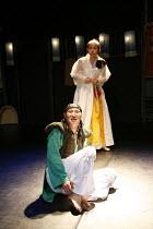 ROMEO AND JULIET   by Shakespeare   director: Oh Tae-Suk,Kim Byung Cheol (Romeo), Kim Mun Jung (Juliet),Mokhwa Repertory Company (Korea),BITE:06 / Pit Theatre, Barbican Centre, London EC2...