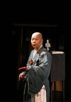 ROMEO AND JULIET   by Shakespeare   director: Oh Tae-Suk, Ju Hyuk Jun (Friar John),Mokhwa Repertory Company (Korea),BITE:06 / Pit Theatre, Barbican Centre, London EC2                23/11/2006,