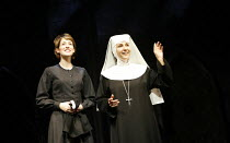 THE SOUND OF MUSIC   music: Richard Rodgers   lyrics: Oscar Hammerstein II   book: Howard Lindsay &Russel Crouse   director: Jeremy Sams,l-r: Connie Fisher (Maria Rainer), Lesley Garrett (The Mother A...