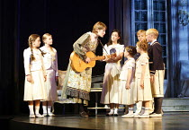 THE SOUND OF MUSIC   music: Richard Rodgers   lyrics: Oscar Hammerstein II   book: Howard Lindsay &Russel Crouse   director: Jeremy Sams,centre: Connie Fisher (Maria Rainer) with the von Trapp childre...