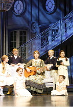 THE SOUND OF MUSIC   music: Richard Rodgers   lyrics: Oscar Hammerstein II   ,book: Howard Lindsay &Russel Crouse   director: Jeremy Sams,centre: Connie Fisher (Maria Rainer) with six of the von Trapp...