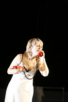 LA VOIX HUMAINE   by Poulenc   conductor: Paul Watkins   director: Deborah Warner,set & costume design: Tom Pye   lighting design: Jean Kalman,Joan Rodgers (Elle / The Woman),Opera North / Leeds, Engl...