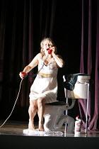 LA VOIX HUMAINE   by Poulenc   conductor: Paul Watkins   director: Deborah Warner,set & costume design: Tom Pye   lighting design: Jean Kalman,Joan Rodgers (Elle / The Woman)   ,Opera North / Leeds, E...