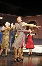 'ACORN ANTIQUES-THE MUSICAL!' (book/music/lyrics: Victoria Wood   director: Trevor Nunn),l-r: Celia Imrie (Miss Babs),  Julie Walters (Mrs Overall),Theatre Royal Haymarket, London SW1...