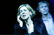 'ANYONE CAN WHISTLE' (Laurents/Sondheim)~Janie Dee (Fay), Edward Baker Duly (Hapgood)~The Gryphon / Bridewell Theatre, London EC4              08/01/2003
