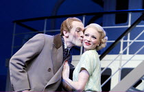 'ANYTHING GOES' (Porter/Wodehouse/Bolton/Lindsay/Crouse)~Simon Day (Lord Evelyn Oakleigh), Mary Stockley (Hope Harcourt)~Olivier Theatre / National Theatre, London SE1             18/12/2002