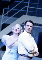 'ANYTHING GOES' (Porter/Wodehouse/Bolton/Lindsay/Crouse) Mary Stockley (Hope Harcourt), John Barrowman (Billy Crocker) Olivier Theatre / National Theatre, London SE1             18/12/2002