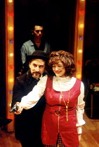 'ASSASSINS' (Sondheim/Weidman, directed by Sam Mendes)~Henry Goodman (Charles Guiteau), Louise Gold (Sara Jane Moore)~Donmar Warehouse, London WC2                   1992