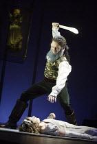 'BEASTS AND BEAUTIES' (Duffy/Still/Supple)~�Bluebeard': Bill Nash (Bluebeard), Zara Ramm (Bluebeard's Wife)~Bristol Old Vic       06/04/2004