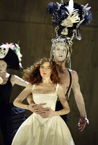 'BEAUTY AND THE BEAST' (adapted & directed by Laurence Boswell)~Aoife McMahon (Beauty), Phillip Aiden (Horse)~Royal Shakespeare Theatre / Royal Shakespeare Company   Stratford-upon-Avon, England   10/...