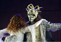 'BEAUTY AND THE BEAST' (adapted & directed by Laurence Boswell)~Aoife McMahon (Beauty), Adam Levy (Beast)~Royal Shakespeare Theatre / Royal Shakespeare Company   Stratford-upon-Avon, England   10/12/2...