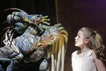'BEAUTY AND THE BEAST' (written & directed by Laurence Boswell),Gary Sefton (Beast), Karen Paullada (Beauty),Royal Shakespeare Company /  Royal Shakespeare Theatre, Stratford-upon-Avon, England...
