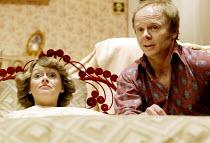 'BEDROOM FARCE' (Ayckbourn)~Suzy Aitchison (Kate), Jason Watkins (Trevor)~Aldwych Theatre, London WC2               08/04/2002