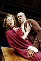 'THE BEGGAR'S OPERA' (Vaclav Havel after Gay)~Caitlin Mottram (Jenny), Howard Saddler (Macheath)~Orange Tree Theatre   Richmond / England                                          17/01/2003