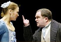 'THE BEGGAR'S OPERA' (Vaclav Havel after Gay)~Octavia Walters (Polly), David Timson (Peachum)~Orange Tree Theatre   Richmond / England                                          17/01/2003