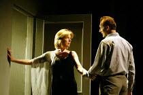 'BETRAYAL' (Harold Pinter)   (director: Peter Hall)~final moments: Janie Dee (Emma), Aden Gillett (Jerry)~The Peter Hall Company / Theatre Royal, Bath   England                  09/07/2003