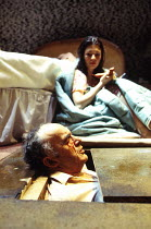 'BLASTED' (Kane)~Pip Donaghy (Ian), Kate Ashfield (Cate)~Royal Court Theatre Upstairs, London SW1  01/1995