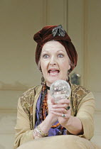 'BLITHE SPIRIT' (Noel Coward - director: Thea Sharrock),Penelope Keith (Madame Arcati),Savoy Theatre, London WC2                  22/11/2004,