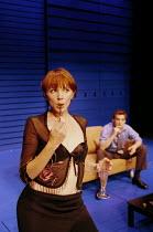 'THE BLUE ROOM' (Hare)~Camilla Power (The Model), Michael Higgs (The Politician)~Theatre Royal Haymarket, London  02/10/2000