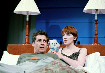 'THE BLUE ROOM' (Hare)~Michael Higgs (The Playwright), Camilla Power (The Actress) ~Theatre Royal Haymarket, London  02/10/2000