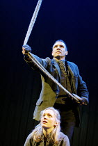 'BRAND' (Ibsen - director: Adrian Noble)~Claire Price (Agnes), Ralph Fiennes (Brand)~Royal Shakespeare Company / Theatre Royal Haymarket, London SW1           04/06/2003