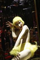 'C'EST BARBICAN!' ('Duckie' - directed by Mark Whitelaw)  Miss High Leg Kick Pit Theatre / Barbican Centre, London EC2                   12/12/2003