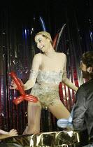 'C'EST BARBICAN!' ('Duckie' - directed by Mark Whitelaw)  Miss High Leg Kick: ÔMiss Kick Does 7 Cocks' Pit Theatre / Barbican Centre, London EC2                   12/12/2003