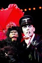 'CABARET' (Kander/Masteroff/Ebb)~l-r: Paul Milton (Gorilla), Julian Bleach (Emcee)~Chichester Festival Theatre, West Sussex, England                 31/07/2002