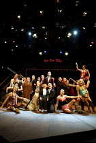 'CABARET' (Kander/Masteroff/Ebb)~the company with (centre) Julian Bleach (Emcee)~Chichester Festival Theatre, West Sussex, England                 31/07/2002