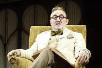 'CALICO' (Michael Hastings - director: Edward Hall) Dermot Crowley (James Joyce) Duke of York's Theatre, London WC2   03/03/2004