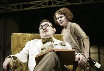 'CALICO' (Michael Hastings - director: Edward Hall) Imelda Staunton (Nora Barnacle), Dermot Crowley (James Joyce) Duke of York's Theatre, London WC2   03/03/2004